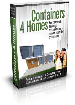 how to build a cargo container for home